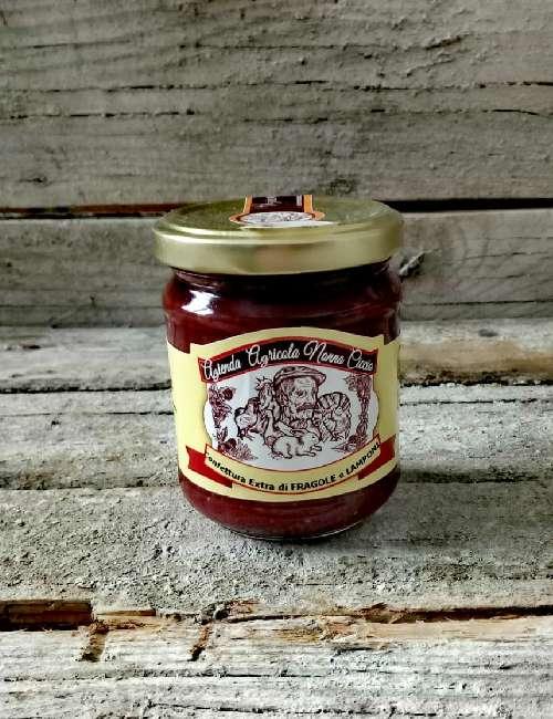 confettura-fragole-e-lamponi Val d'Agri